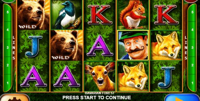 Joaca gratis pacanele Bavarian Forest online