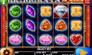 Jocul de cazino online Brilliants On Fire gratuit