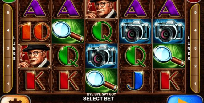 Joaca gratis pacanele Bye Bye Spy Guy online