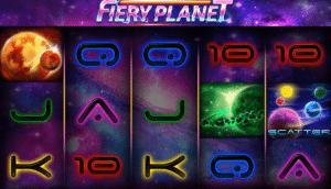 Jocul de cazino online Fiery Planet gratuit
