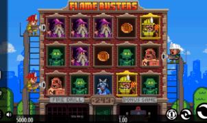 Jocuri Pacanele Flame Busters Online Gratis