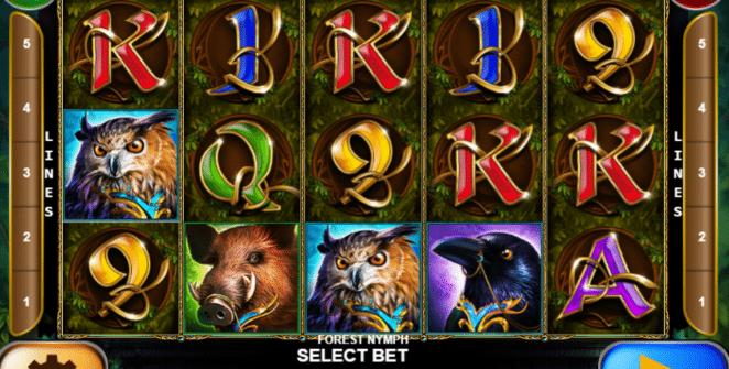 Jocul de cazino online Forest Nymph gratuit