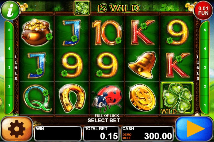 Jocul de cazino online Full of Luck gratuit