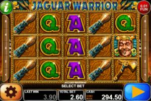 Jocul de cazino online Jaguar Warrior gratuit