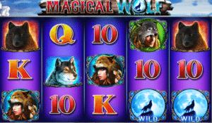 Joaca gratis pacanele Magical Wolf online