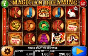 Joaca gratis pacanele Magician Dreaming online