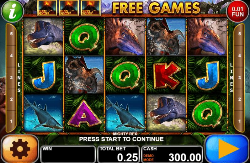Mighty Rex gratis joc ca la aparate online