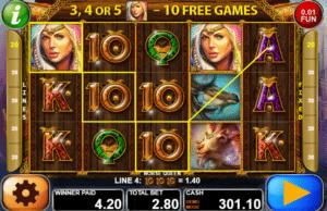 Jocuri Pacanele Norse Queen Online Gratis