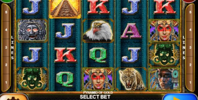 Joaca gratis pacanele Pyramid of Gold online
