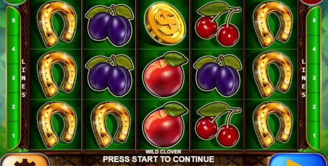 Jocul de cazino online Wild Clover gratuit