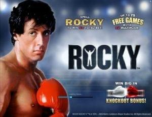 Joaca gratis pacanele Rocky online