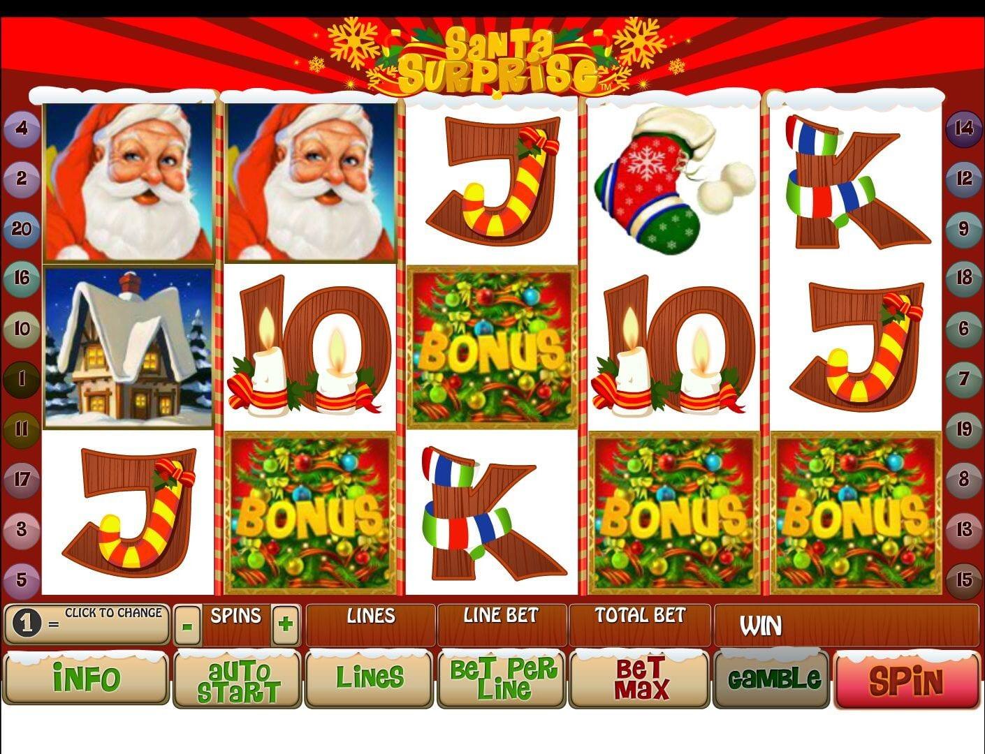 Santa Surprisegratis joc ca la aparate online