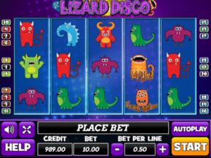 Jocul de cazino online Lizard Disco gratuit