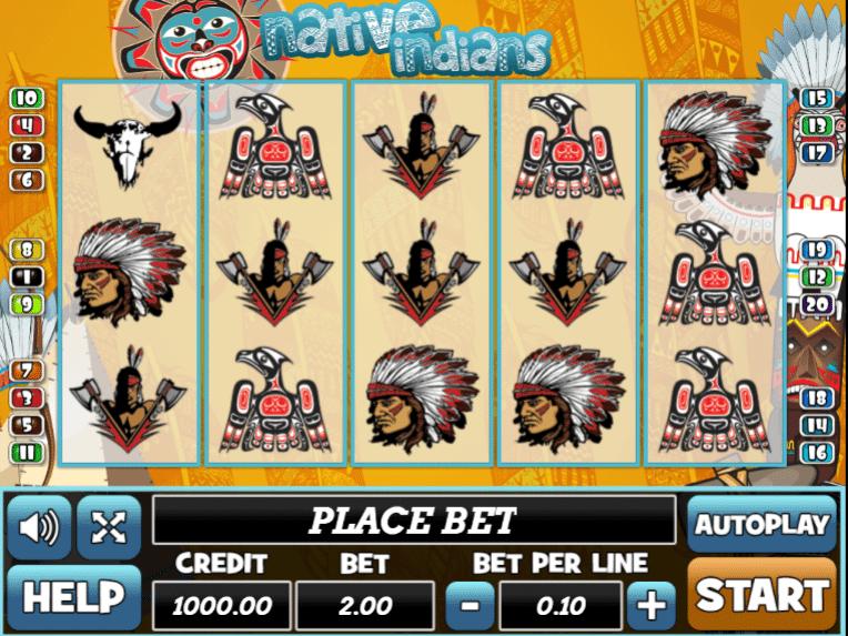 Jocuri Pacanele Native Indians Online Gratis