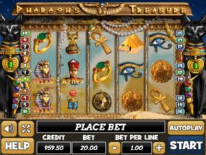 Pharaohs Treasuregratis joc ca la aparate online
