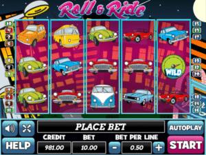 Jocul de cazino onlineRoll and Ridegratuit