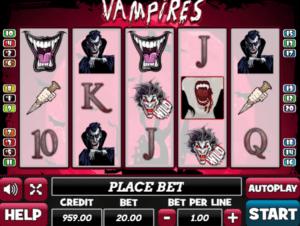 Vampiresgratis joc ca la aparate online