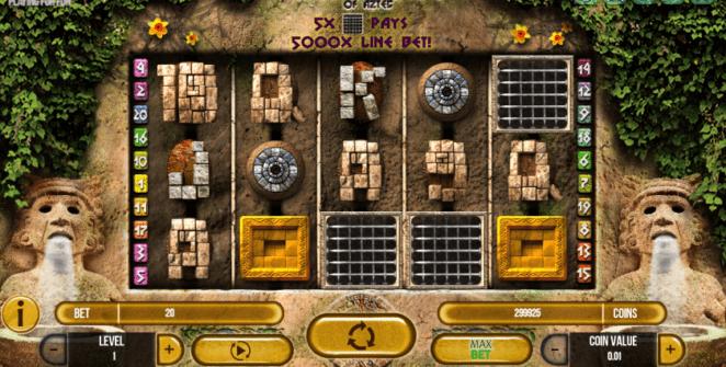 Joaca gratis pacanele Gemstone of Aztec online