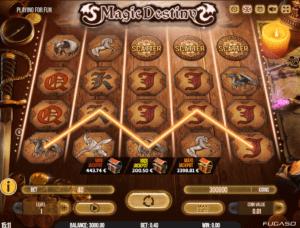 Jocul de cazino online Magic Destiny gratuit