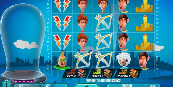 Joaca gratis pacanele Mega Power Heroes online