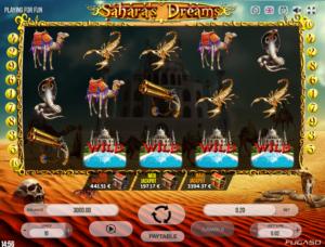 Jocul de cazino online Saharas Dreams gratuit