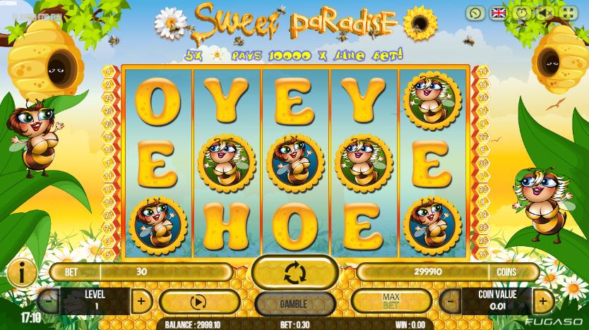 Sweet Paradise gratis joc ca la aparate online