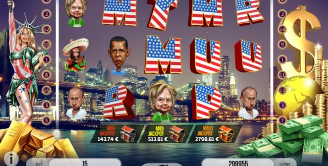 Jocul de cazino online Trump It gratuit