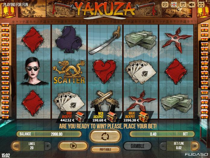 Jocuri Pacanele Yakuza Online Gratis