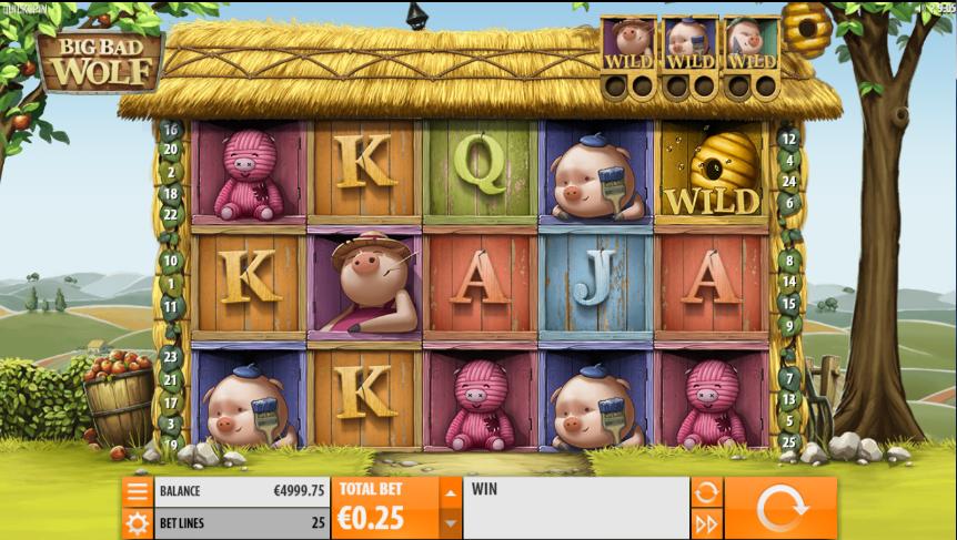Joaca gratis pacanele Big Bad Wolf QuickSpin online