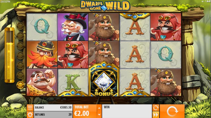 Jocul de cazino online Dwarfs Gone Wild gratuit