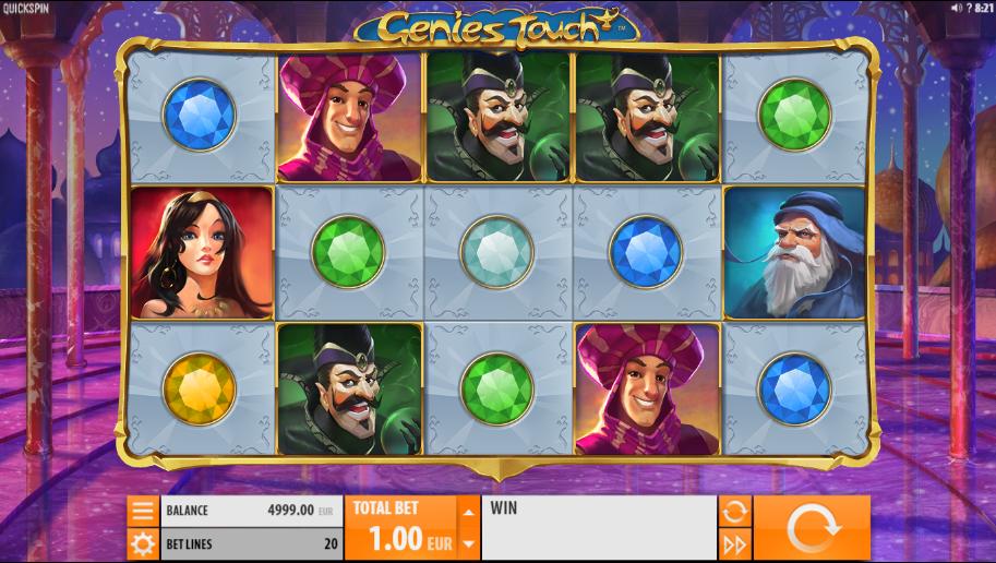 Genies Touch gratis joc ca la aparate online