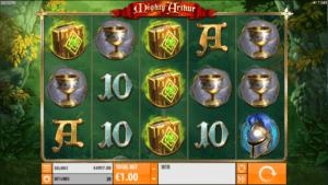 Joaca gratis pacanele Mighty Arthur online