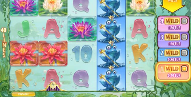 Joaca gratis pacanele Royal Frog online