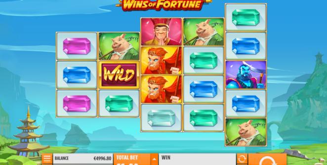 Jocuri Pacanele Wins of Fortune Online Gratis