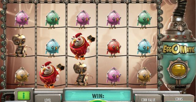 Jocul de cazino online EggOMatic gratuit