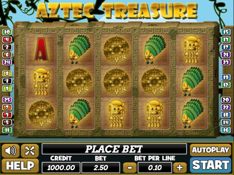 Aztec Treasure Playpearls
