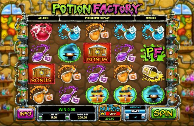 Potion Factory Leander