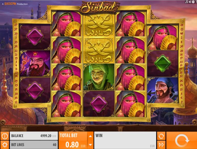 Sinbad QuickSpin