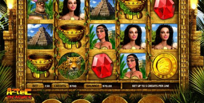 Joaca gratis pacanele Aztec Treasures online