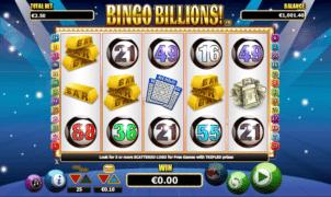 Jocul de cazino online Bingo Billions este gratuit