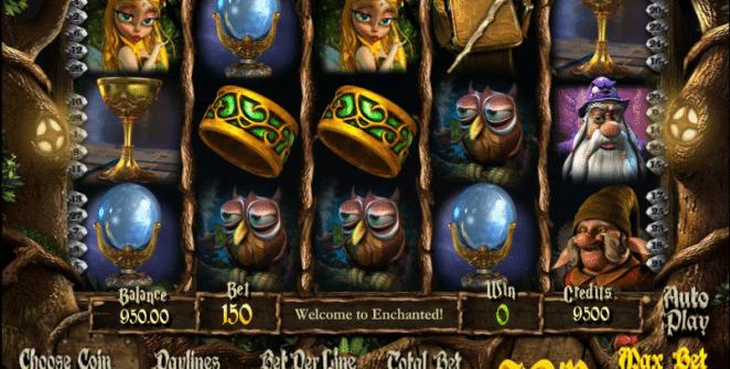 Enchanted gratis este un joc ca la aparate online