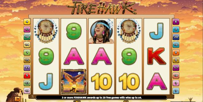 Jocul de cazino online Fire Hawk este gratuit
