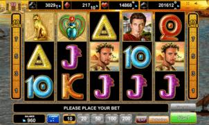Joaca gratis pacanele Grace of Cleopatra online