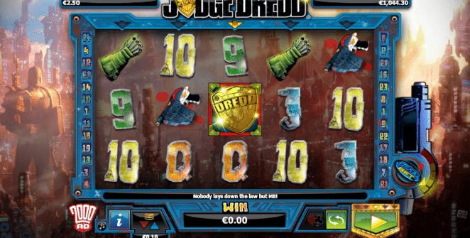 Jocul de cazino online Judge Dredd este gratuit