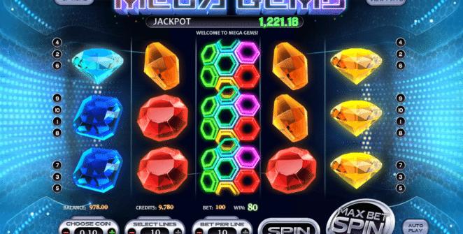Jocul de cazino online Mega Gems este gratuit