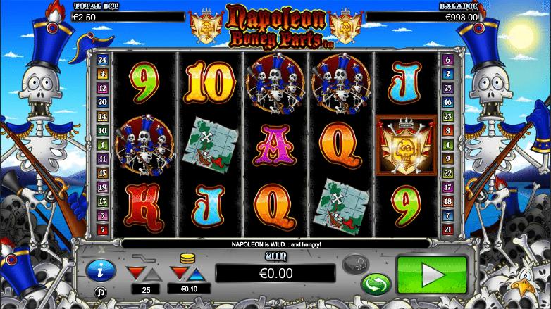 Joaca gratis pacanele Napoleon Boney Parts online