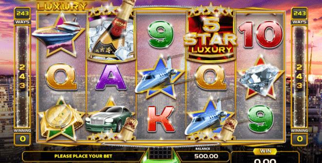 Jocul de cazino online Five Star Luxury gratuit