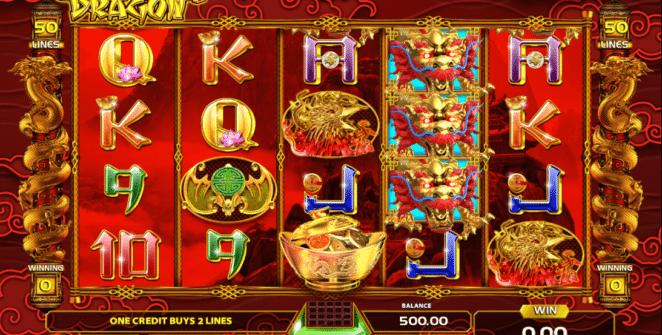 Jocul de cazino online Golden Dragon Game Art gratuit