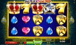 Joaca gratis pacanele Royal Gems online