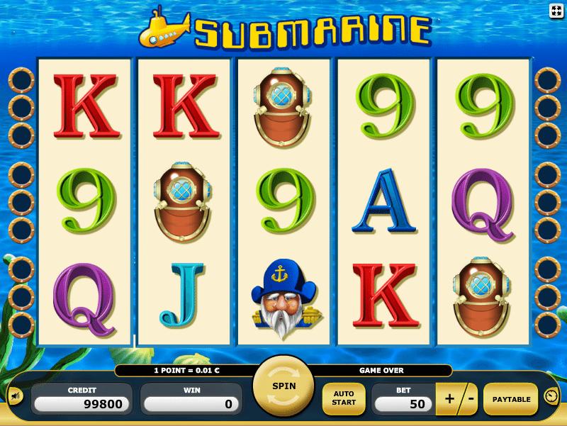 Joaca gratis pacanele Submarine online
